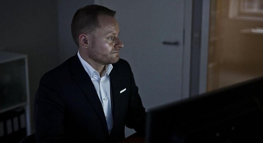 Lokalebasen.dk har udarbejdet en ny statistik, der viser, at langt flere erhvervslokaler end hidtil antaget står tomme. Her ses bestyrelsesformand Jakob Dalhoff.