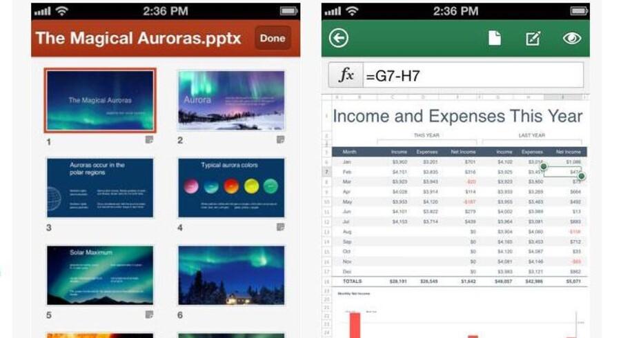 Microsoft lavede i 2013 en neddroslet udgave af sin kontorpakke, Office Mobile, til iPhone-telefoner. Nu er en iPad-udgave på vej, siges det.