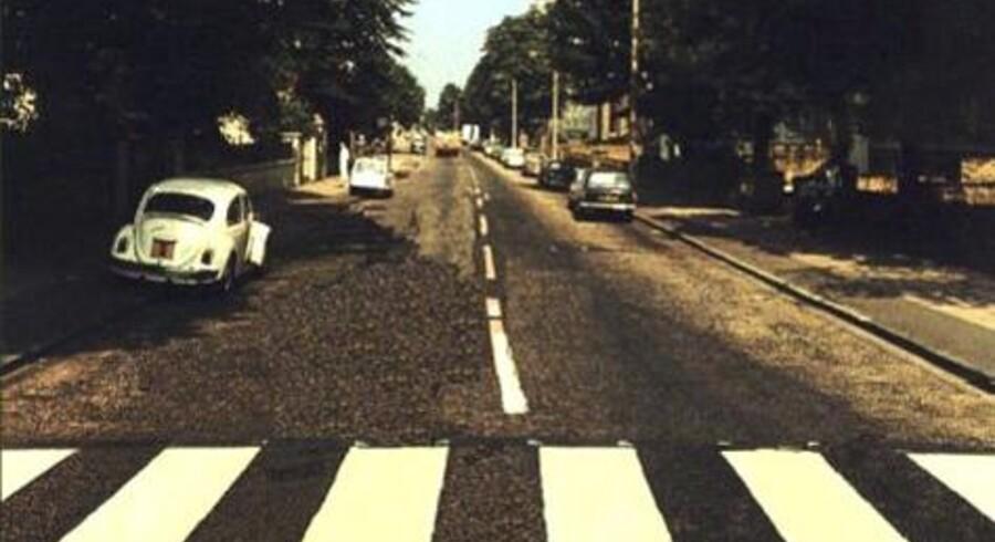 Abbey Road, som ligger i St. John's Wood-distriktet i den nordvestlige del af London, er blevet fredet af det britiske kulturministerium. Foto: norwegianwood.org