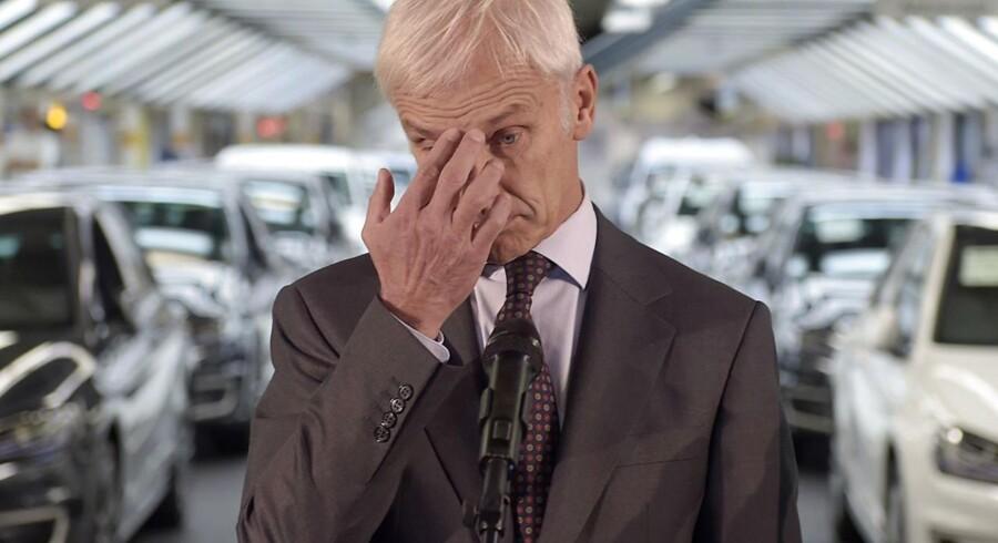 Nu vil Volkswagen skifte fupsoftware i de danske biler.