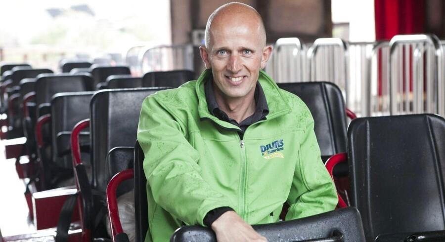 Djurs Sommerlands administrerende direktør, Henrik B. Nielsen, er klar med massive investeringer, der skal sikre vækst.