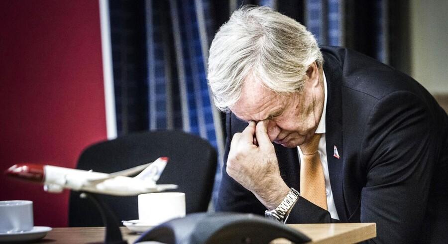 Bjørn Kjos måtte sidste år vinke farvel til 100 mio. kroner i ekstra omkostninger i forbindelse med strejken i Norwegian. Nu truer en ny strejke.