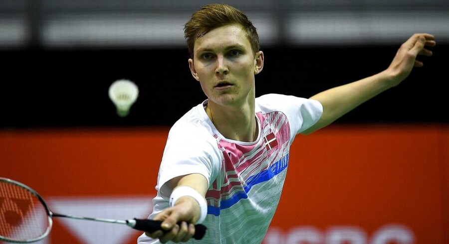 Viktor Axelsen vandt lørdag over Daren Liew fra Malaysia og er videre til finalen.