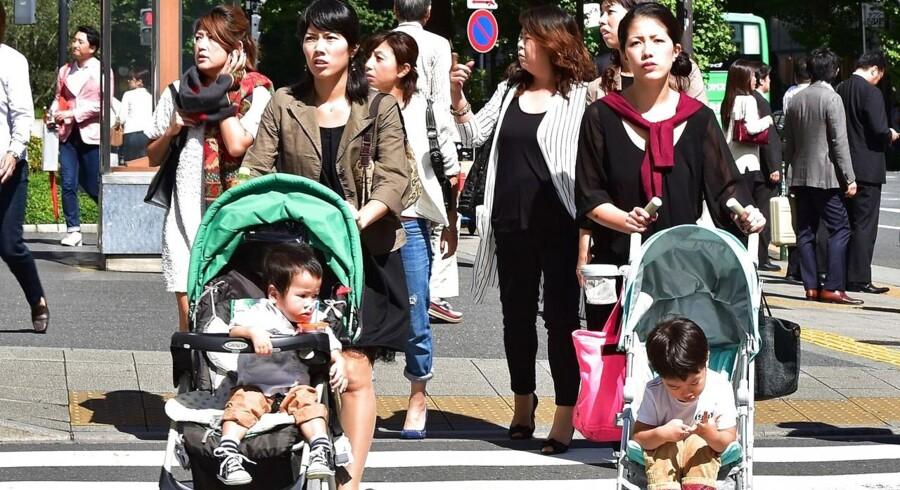 Forbruget stigern i Japan.