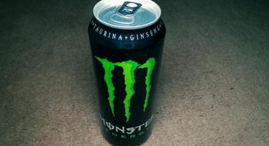 Energidrikken Monster Energy.