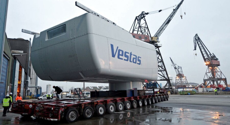 ARKIVFOTO. Vestas-aktien får gevaldigt kursløft efter rekordregnskab.
