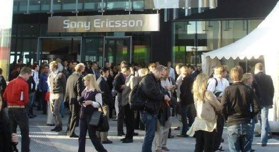 Sony Mobile (tidligere Sony Ericsson) har sit store udviklingskontor i Lund. Nu skal der skæres ned. Arkivfoto: Thomas Breinstrup