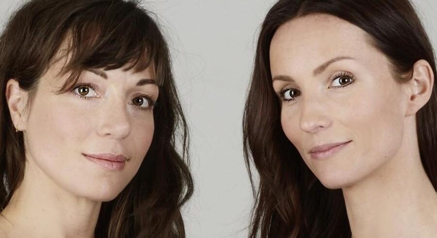 Katrine Engberg (tv.) og Anne Mette Hancock er aktuelle med bogen »Klap i, hest!«, som udkommer på Lindhardt og Ringhof 2. juli.