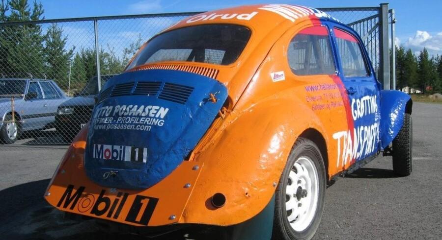 Folk Racing: Et enkelt princip om, at bilen skal være maks. 1.400 euro værd, betyder, at løbene bliver en konkurrence i køretalent og ikke i mekanik og udstyr. Foto: PR