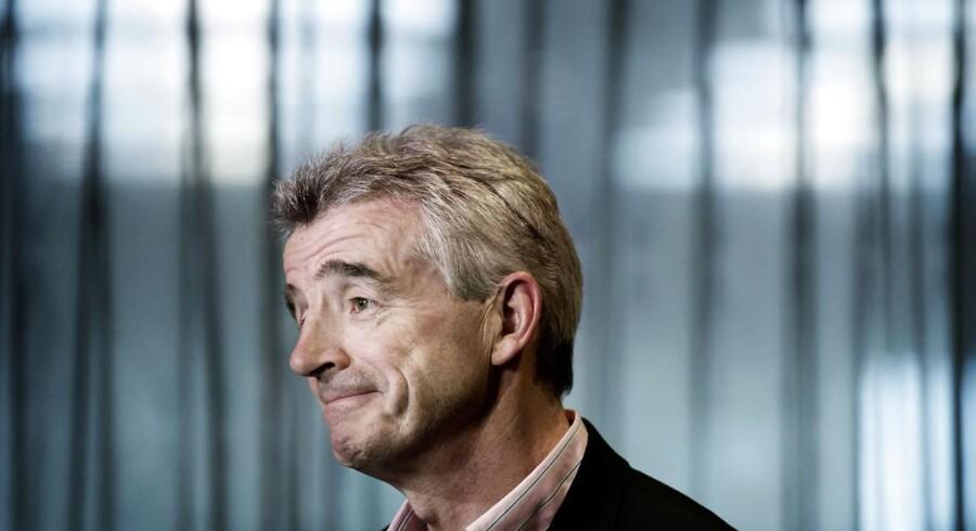 Ryanairs administrerende direktør Michael O'Leary. (Foto: Liselotte Sabroe/Scanpix 2015)