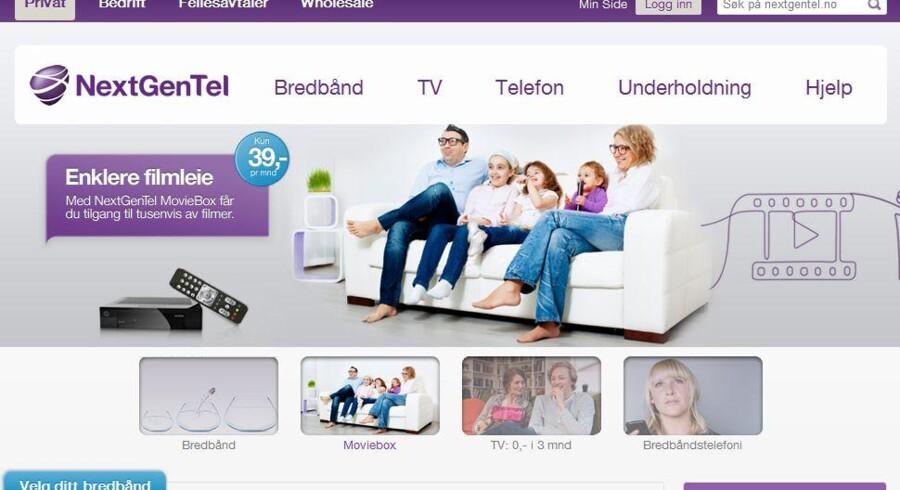 Internetudbyderen Nextgentel er endnu i tydeligt Telia-design. Det slutter nu.