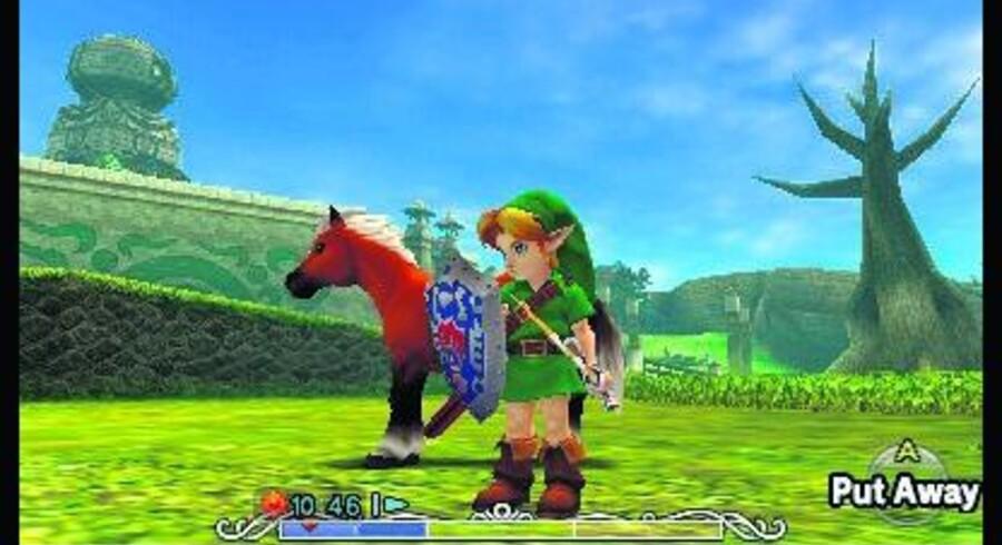 En ny og forbedret udgave af et gammelt »Zelda«-spil stortrives på den opdaterede Nintendo 3DS.