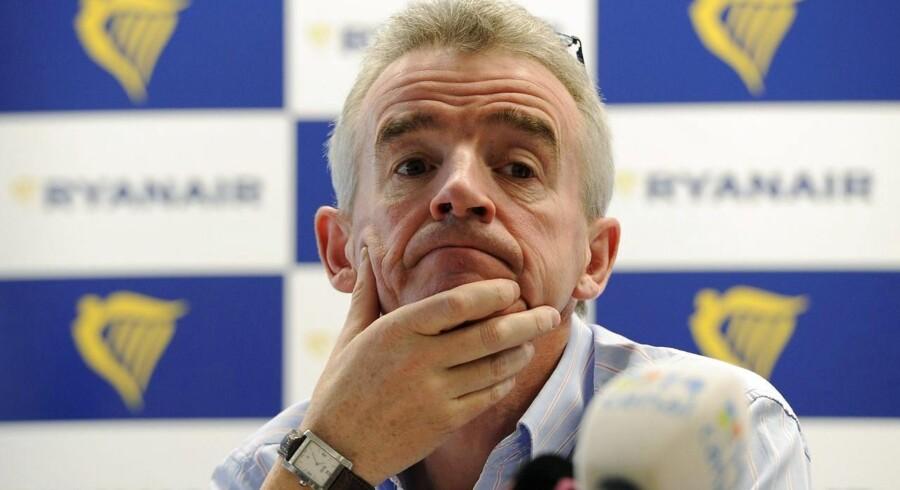 Topchef Michael O'Leary var selv med i København, og han kunne løfte sløret for tre nye ruter til henholdsvis Budapest i Ungarn samt Allicante og Malaga i Spanien.