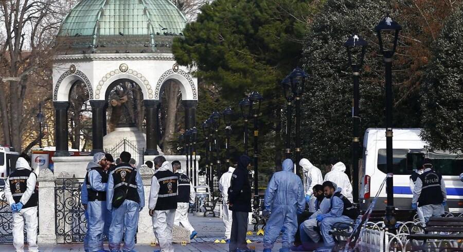 Istanbul tirsdag formiddag.