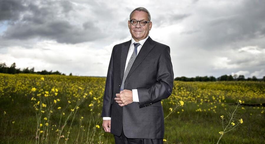 Bent Andersen, kreditboss, til artikel om landbrugskrisen