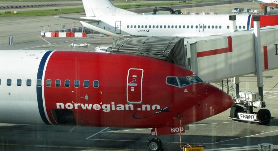 Selvom strejken i Norwegian er afblæst, vil der onsdag være aflysninger på ruterne mellem København og Oslo, Stockholm, Helsinki samt Aalborg. ARKIVFOTO.