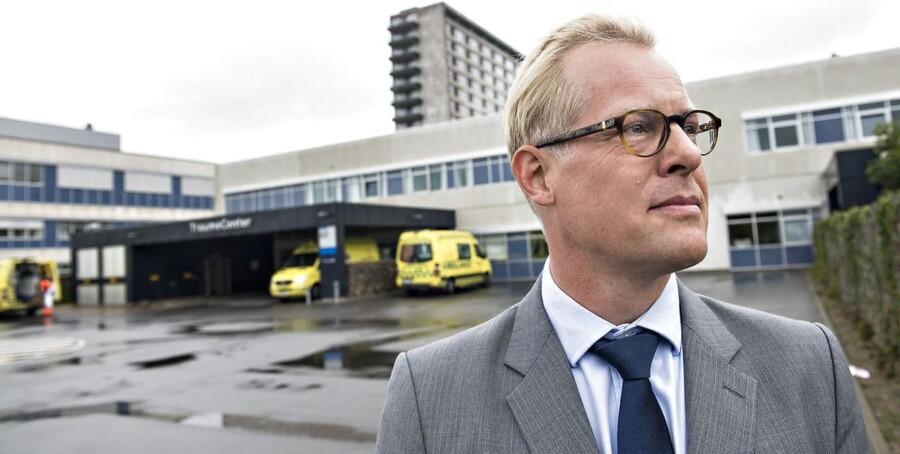 Carl Holst (V), regionrådsformand Region Syddanmark.