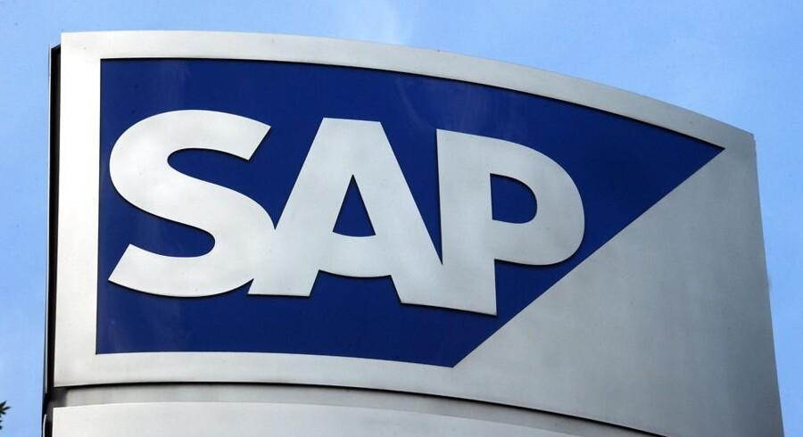 SAP betaler sig fra penibel retssag mod Oracle. Arkivfoto: Uli Deck, EPA/Scanpix