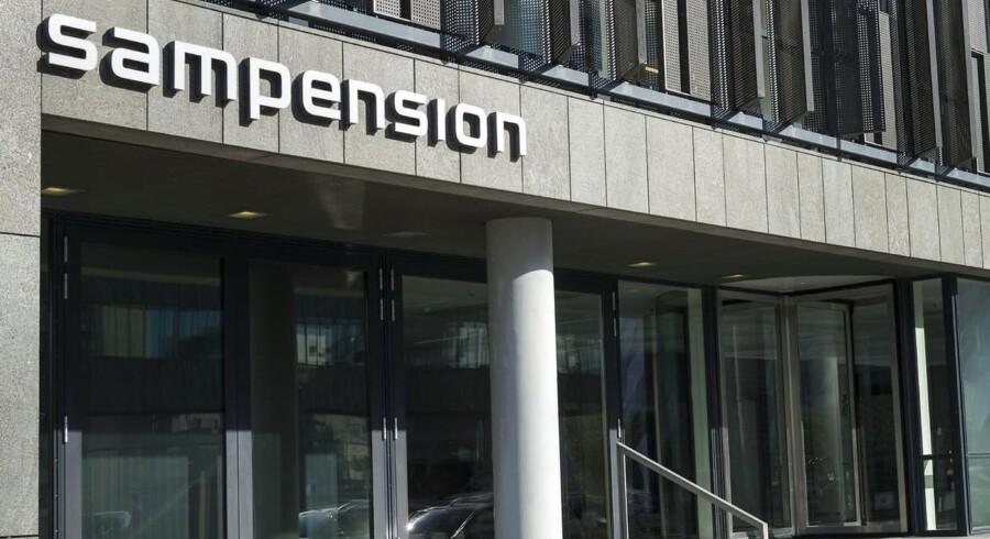 Sampension Kontor på Tuborg Havnevej i København
