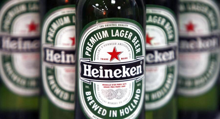 Heinekens fjerde kvartal gik bedre end ventet.