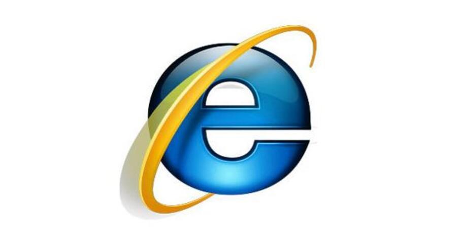 Med mindre du anvender en af de to seneste Internet Explorer-versioner er du i farezonen.