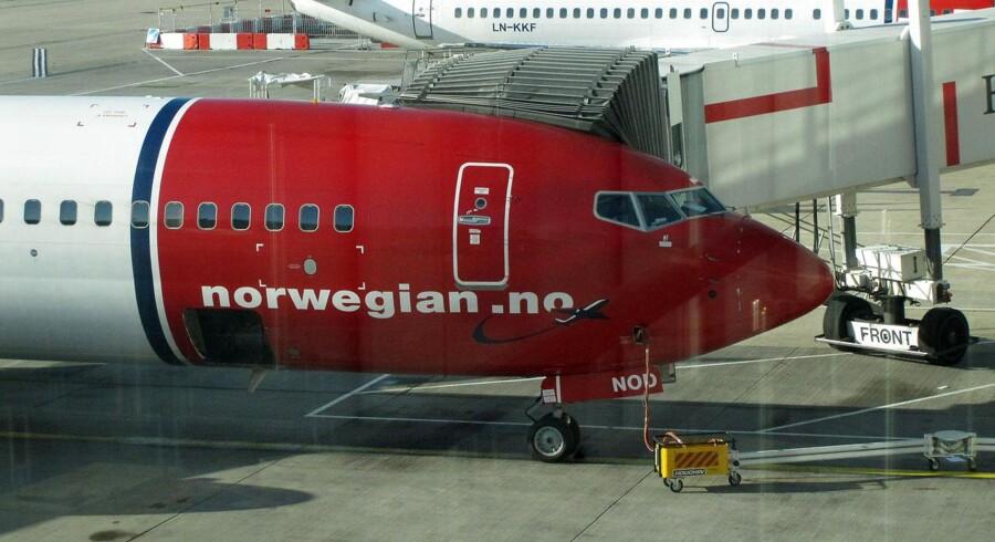 Norwegian er ramt af strejke, og nu strammer man reglerne for de allerede pressede medarbejdere. Foto: Steffen Ortmann/Scanpix.