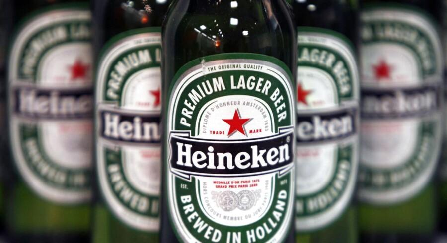 Hollandske Heineken har angiveligt takket net til fusionsfølere fra SAB Miller.