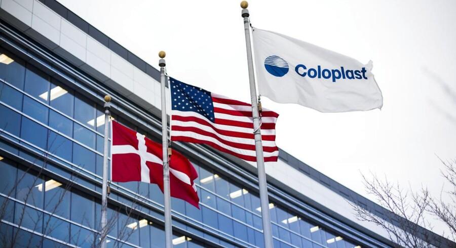 Coloplasts amerikanske hovedkontoret, der med sin topmoderne og lyse skandinaviske stil skiller sig ud midt i et kvarter med nedslidte industribygningerg i Minneapolis.