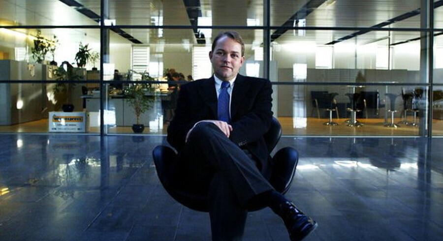 IT-Branchens formand, KMDs administrerende direktør Lars Monrad-Gylling