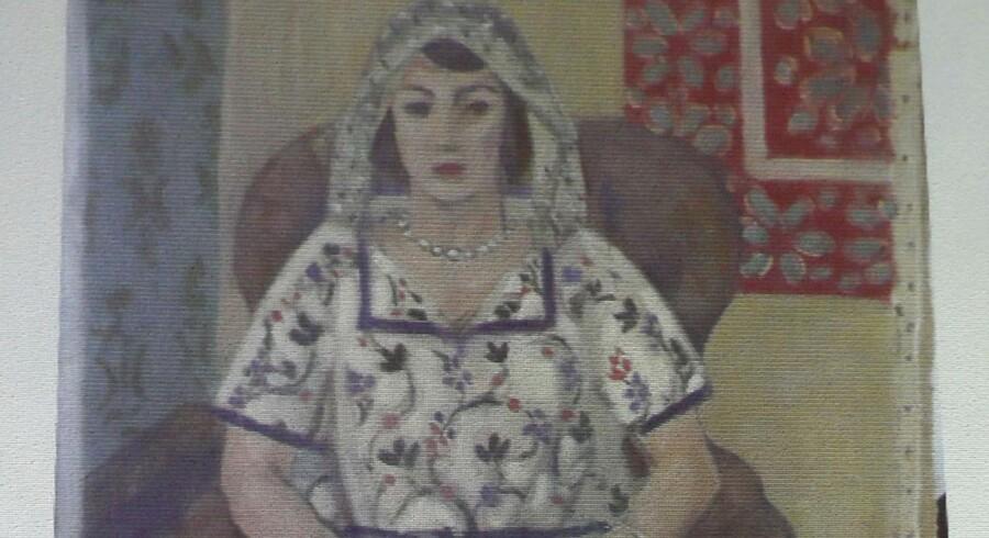 Henri Matisses »Siddende Kvinde« er blandt de nyopdagede værker.