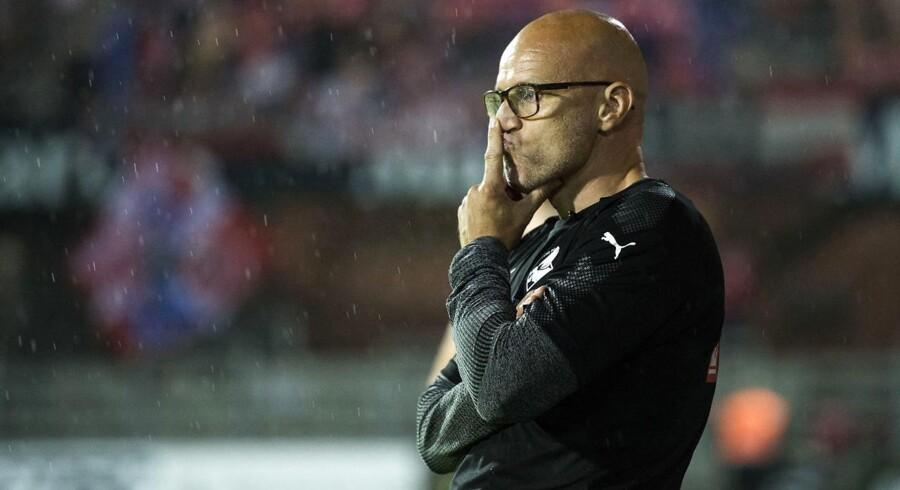 Randers FC er uden sejr efter syv kampe i Alka Superligaen, men cheftræner Olafur Kristjansson fortsætter ind til videre.