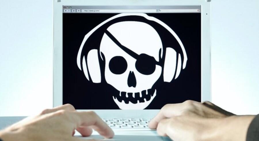En ny, svensk lov mod piratkopiering får trafikken på nettet til at falde markant. Foto: Colourbox