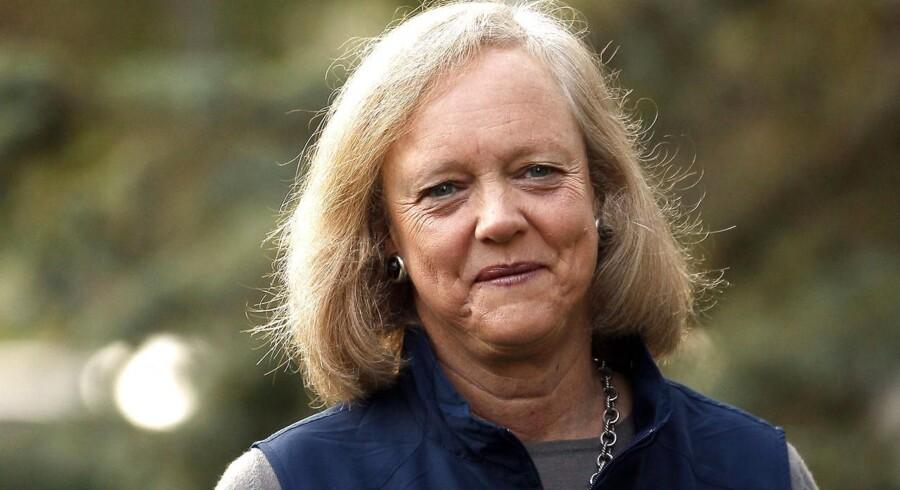 HPs topchef, Meg Whitman, kæmper for at få teknologikoncernen på fode igen. Foto: Rick Wilking, Reuters/Scanpix
