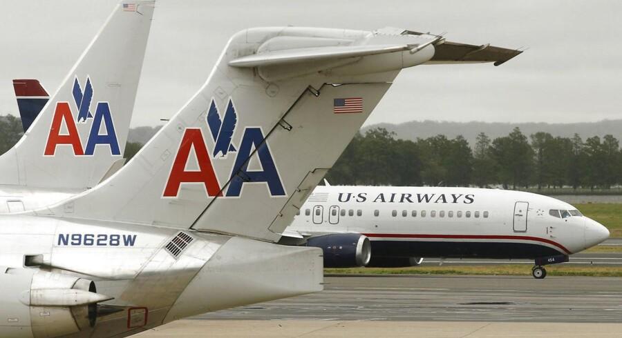 Fusionen mellem American Airlines og US Airways har gjort American Airlines Group til det største flyselskab i USA.
