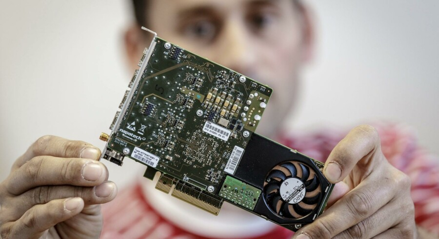 Danske Napatech leverer højteknologiske komponenter og løsninger, der bruges til at planlægge og styre trafikken på internettet. PR-foto