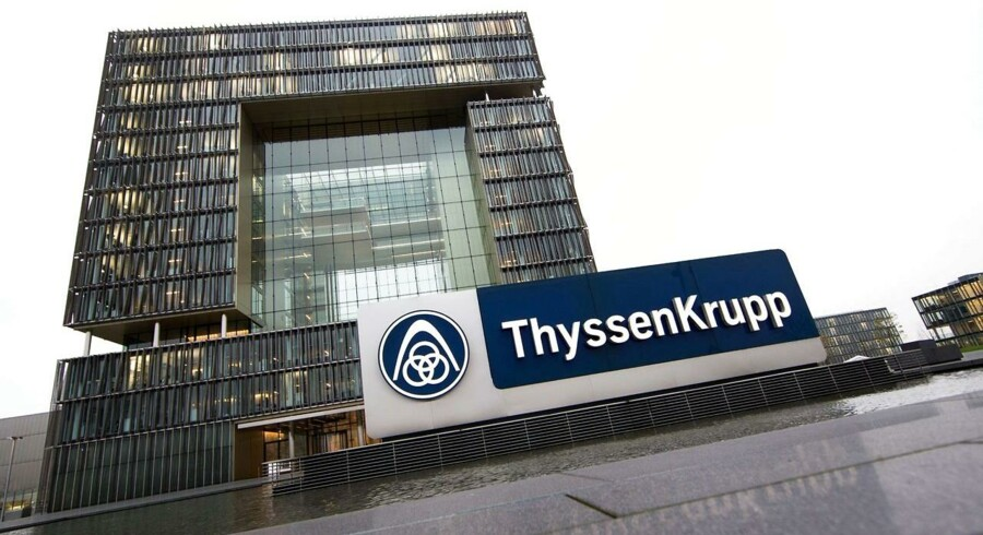 A view of ThyssenKrupp headquarters on November 20, 2014 in Essen.