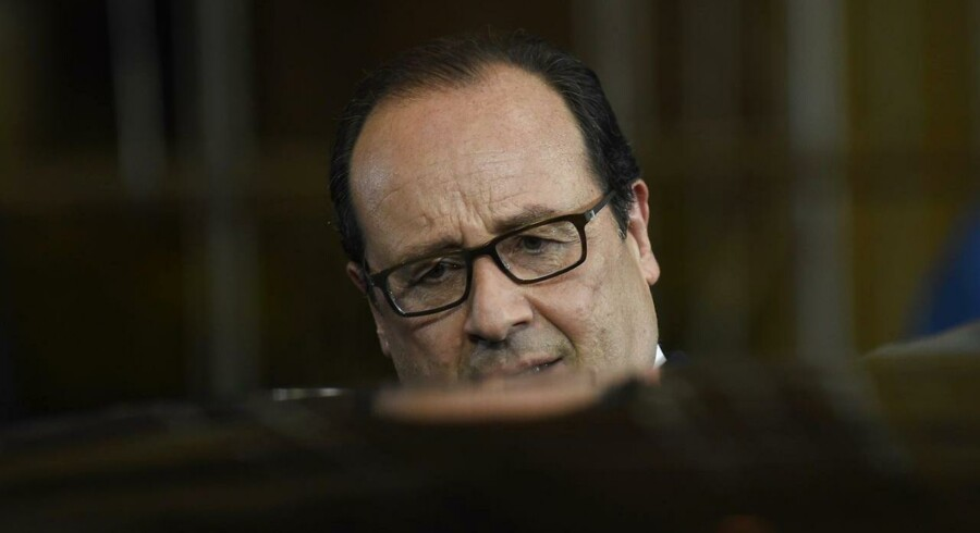 Frankrigs præsident Francois Hollande