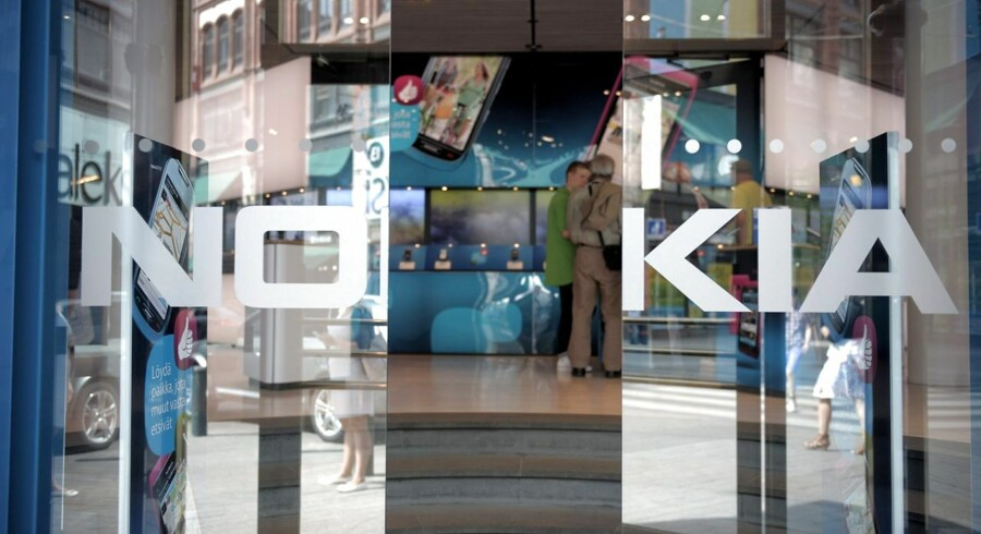 FILES - Picture shows Nokia's flagship store in Helsinki on July 18, 2011. Finnish mobile phone giant Nokia on April 18, 2013 posted a net loss of 272 million euros ($355 million) in the first quarter of the year 2013, narrowing a 928 million euro loss in the same period in 2012. AFP PHOTO / LEHTIKUVA / Jussi Helttunen FINLAND OUT