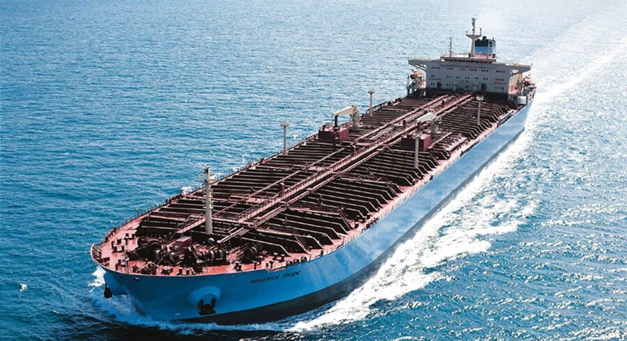 A.P. Møller-Mærsk overvåger omhyggeligt den faldende oliepris, da en lav oliepris kan betyde, at man skal skære i omkostningerne i oliedivisionen Maersk Oil.