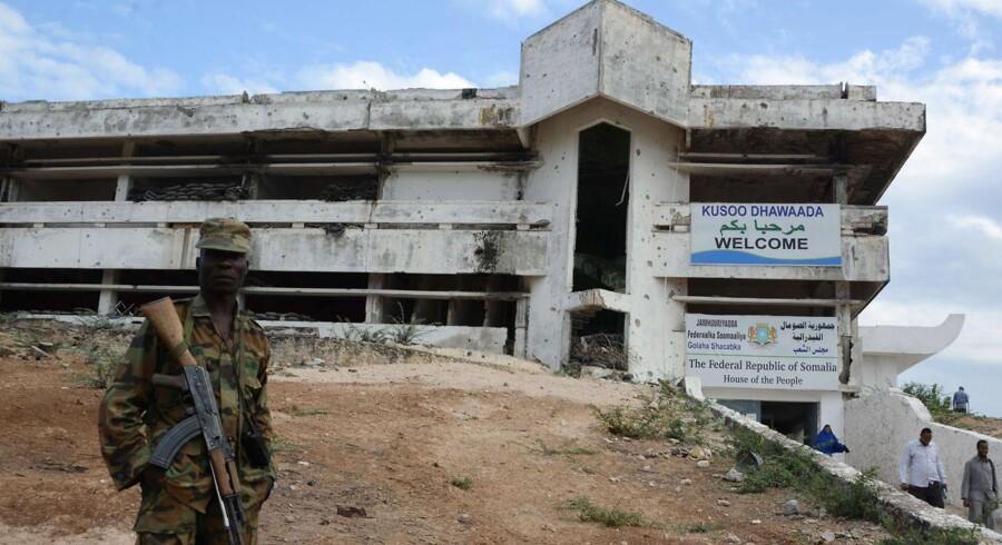 Somalia er et af de lande, der er hårdt plaget af korruption.