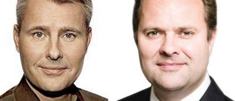 Henrik Sass Larsen, (S) Erhvervs- og vækstminister og Mads Lebech, Administrerende direktør, Industriens Fond