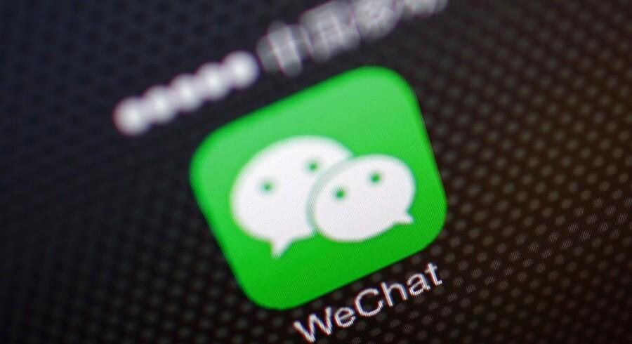 Flere beskedapps har travlt med at tilføre flere funktioner - som eksempelvis spil. Det har blandt andre WeChat fokus på.