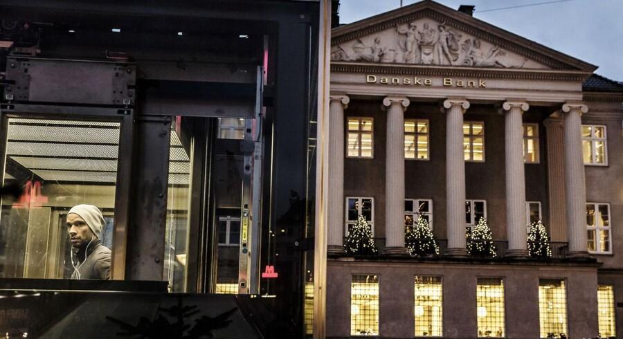 Danske Bank på Kongens Nytorv i København.
