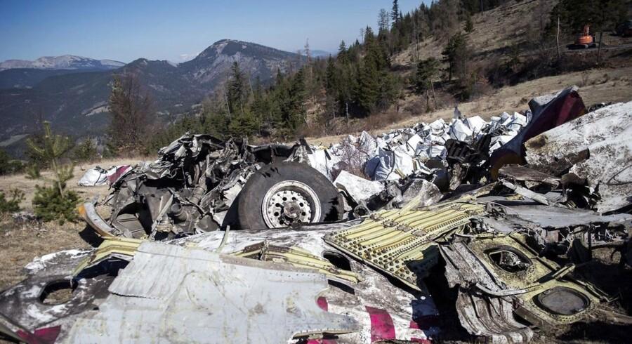De sidste vragdele fra det Germanwings-fly, der styrtede ned i marts, er nu samlet ind.