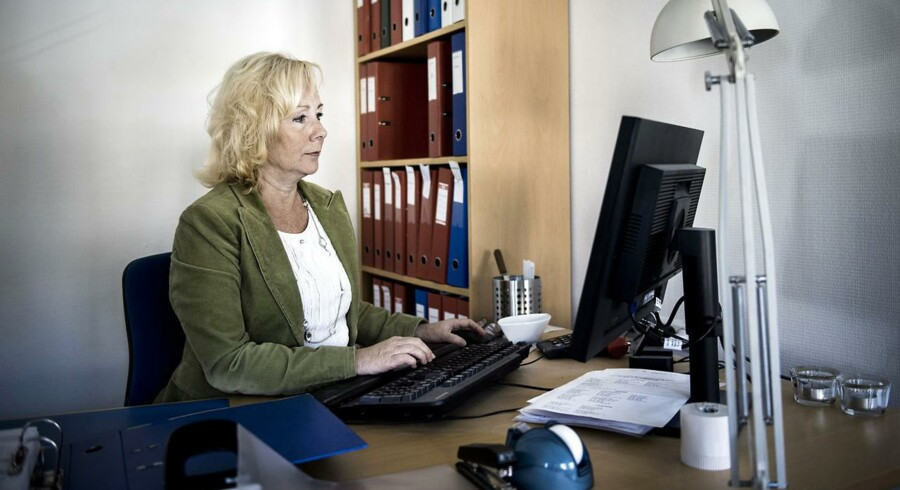 Hanne Dandanel blev økonomisk reddet af forsikringen, da hun gik ned med stress.