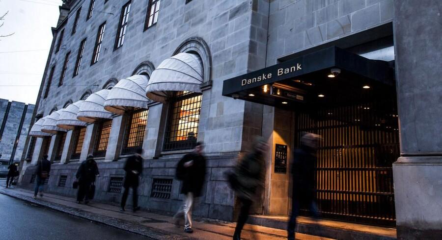 Danske Banks tab bliver formodentlig på over en milliard, hvis renten sænkes yderligere og holder sig negativ året ud.