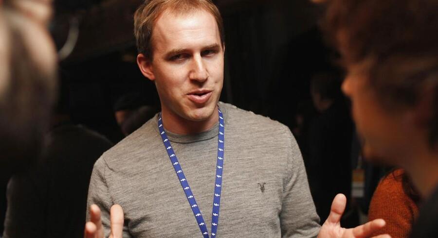 Bret Taylor forlader Facebook til sommer. Arkivfoto: Stephen Lam, Reuters/Scanpix