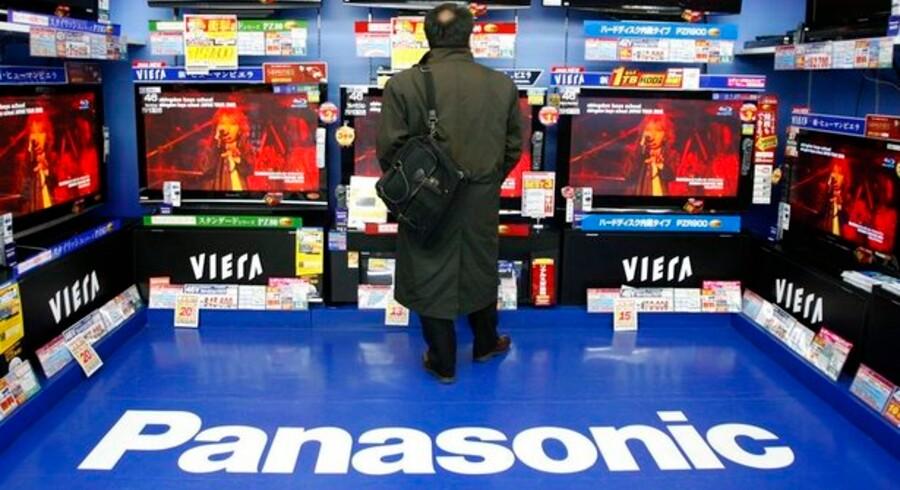 Også Panasonic står til et rødt minus i regnskabet. Foto: Yuriko Nakao, Reuters/Scanpix