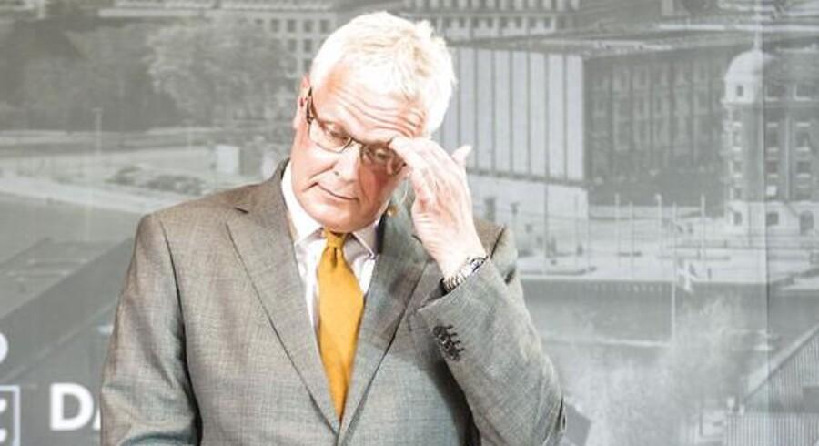 Nationalbankens direktør Hugo Frey Jensen vil af med Nationalbankens aktiepost i Værdipapircentralen.