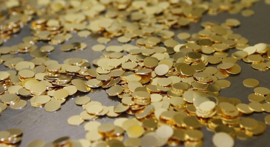 Pensionsselskaberne leder efter guldet. Foto: Leonhard Föger